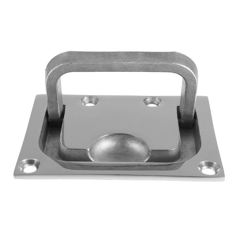 316 Stainless Steel for Boat Marine Caravan Flush Hatch Locker Cabinet Lift Pull Handle Hardware