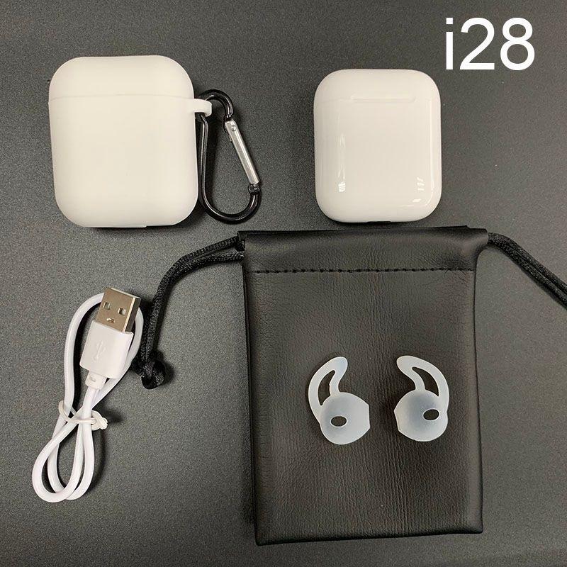 i28 TWS Wireless Earphones Bluetooth 5.0 Earphone Headphones Headset Earbuds Auto Pairing PK i10 i11 i12 i13 i20 i30 i60 i80 TWS