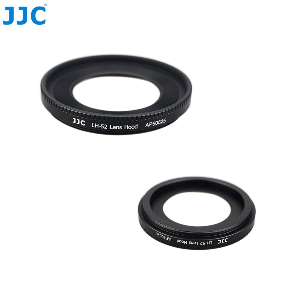 JJC Metal Lens Hood 55 mm for Canon EF 40mm f/2.8 STM/EF-S 24mm f/2.8 STM replace ES-52