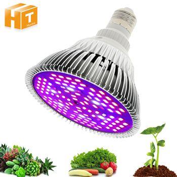 Full Spectrum Led Grow Light 6W 10W 30W 50W 80W Red Blue UV IR Led Growing Lamp For Hydroponics Flowers Plants Vegetables