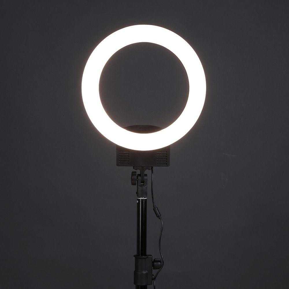 ALLOYSEED LED Ring Light Camera Photo Studio Phone Video 36W 240pcs LED Ring Light 5500K Photography Dimmable Ring Lamp
