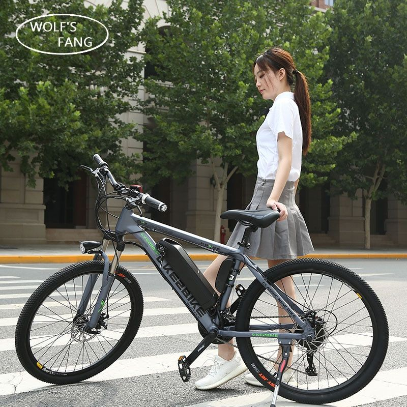 Electric Bicycle 36v 350w 26 inch Aluminum alloy lithium battery 27 speed Mountain Bike MTB Free shipping Brushless Motor