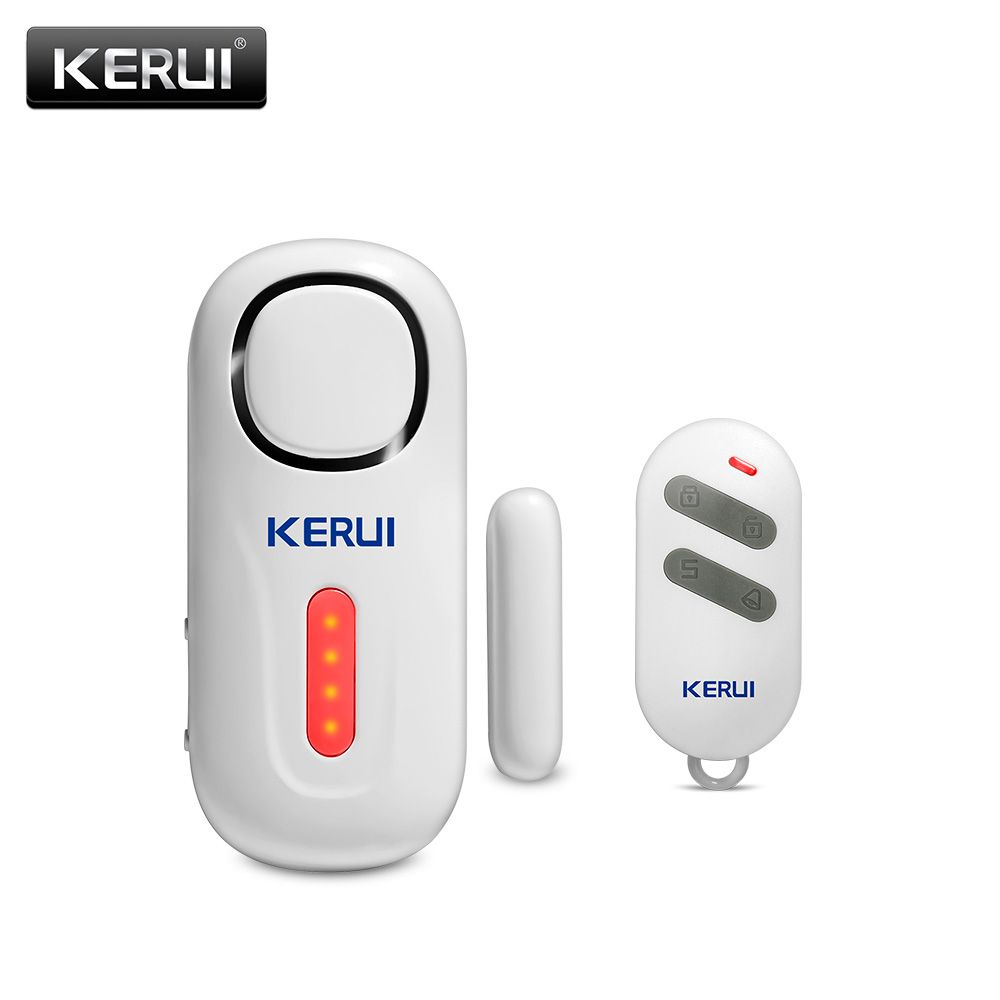 KERUI Door/Window Entry Security Burglar Sensor Alarm PIR Door Magnetic Wireless Alarm System Security with Remote Control