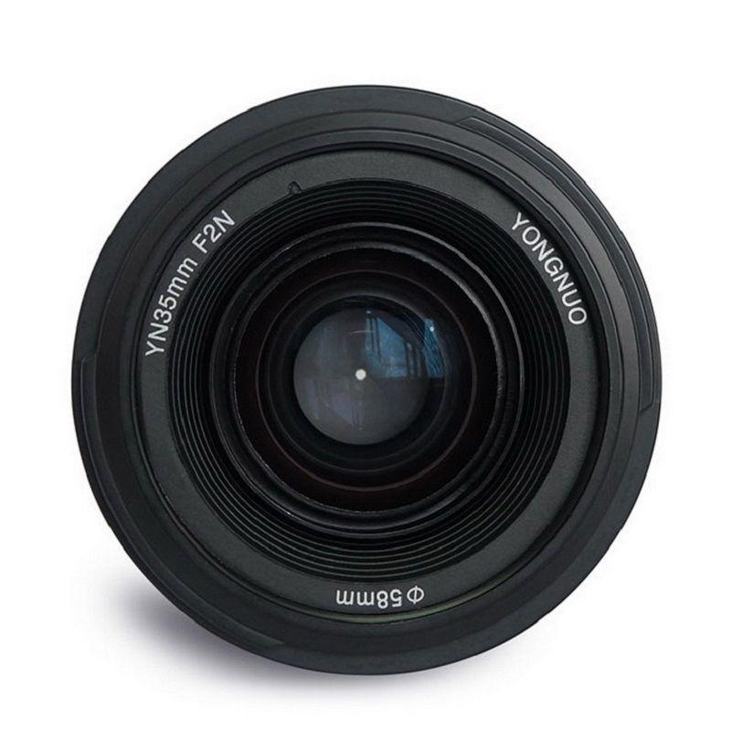 YONGNUO YN 35mm F2 Kamera Objektiv Objektiv 1:2 AF/MF Breite-Winkel Festcode/Prime Auto Focus objektiv für Nikon für Canon