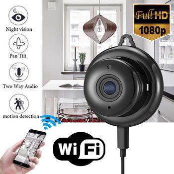 Mayitr 1 قطعة كامل HD 1080 وعاء البسيطة كاميرا wifi ip اللاسلكي للرؤية الليلية كاميرات مصغرة مجموعات للمنزل الأمن CCTV