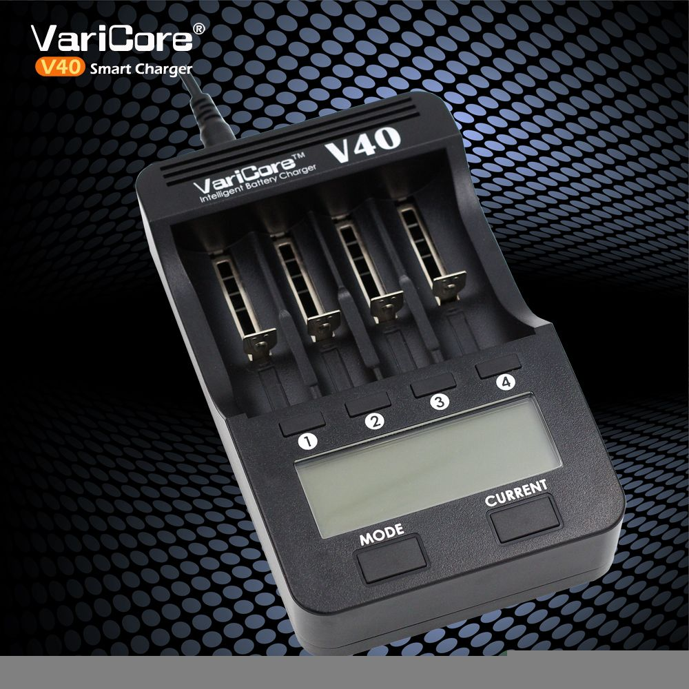New 2017 VariCore V40 3.7 B 26650 18350 16340 18650 18500 25500 10440 17500 nik 1.2 The AA AAA 5V output LCD Smart Charger