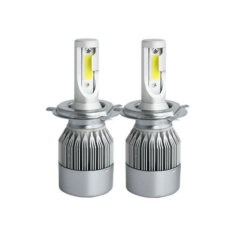 2X H7 led car headlights H4 H11/H8/H9 H1 H3 hb3 9005 hb4 9006 9004/9007 880 light bulb auto fog lamp 72W Automobiles headlight