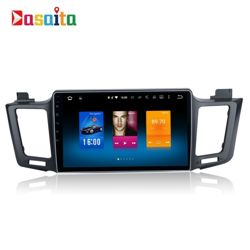 Car 2 din android GPS Navi for Toyota RAV4 2014 - 2017 autoradio navigation head unit multimedia 4Gb+32Gb Android 8.0 PX5 8-Core