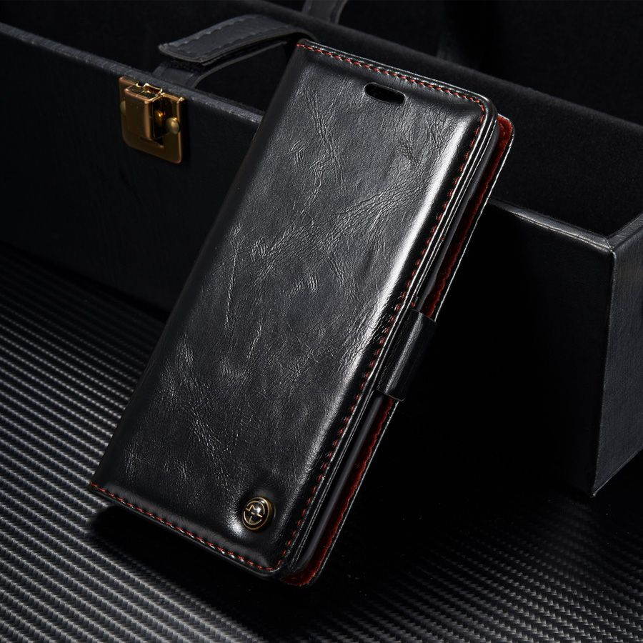 Original CaseMe Phone Case For Sony Xperia XZ Dual Luxury Leather Magnetic Flip Wallet Case Cover For Sony Xperia X Performanse