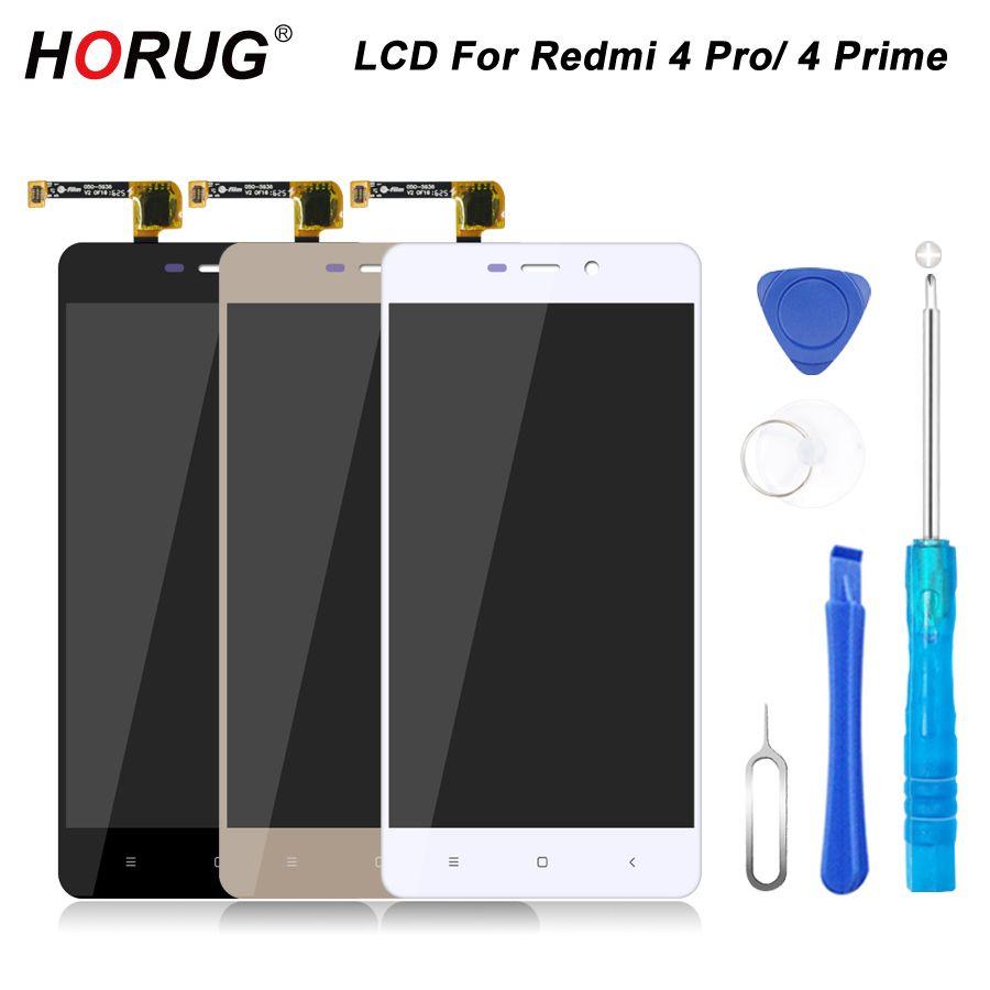 HORUG 100% AAAA Original LCD Für Xiaomi Redmi 4 Pro 4 Prime bildschirm LCD Display Ersatz Touch Redmi 4 Prime 4 Pro Bildschirm LCDS