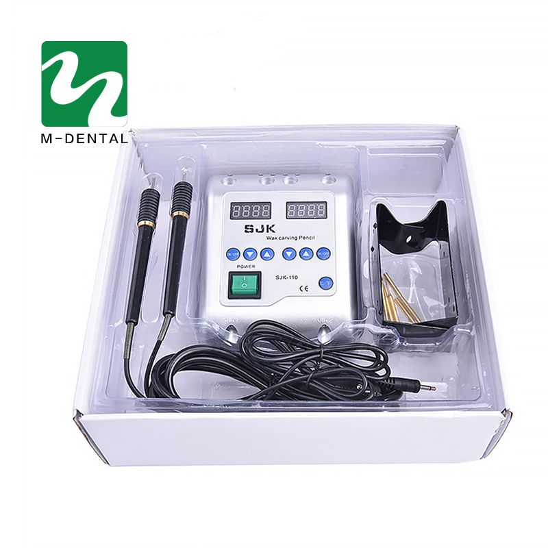 1 Set Dental Lab Electric Wax Carving Pen Electrical Appliances Carving and Molding Wax Instrument
