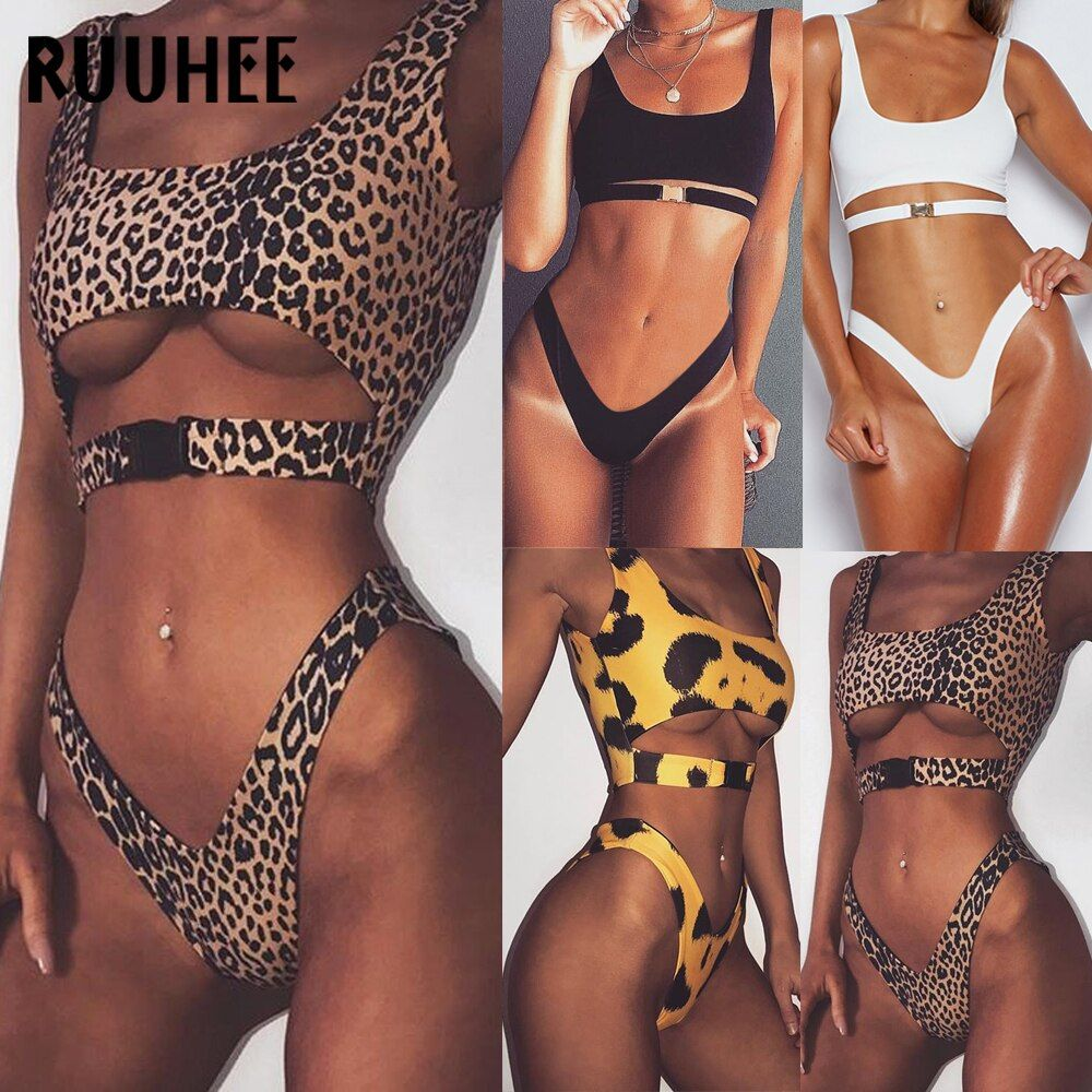 RUUHEE Bikini Swimwear Women Swimsuit 2018 Bathing Suit Push Up Sexy Bikini Set Female Beachwear Padded Swimming Suit For Women