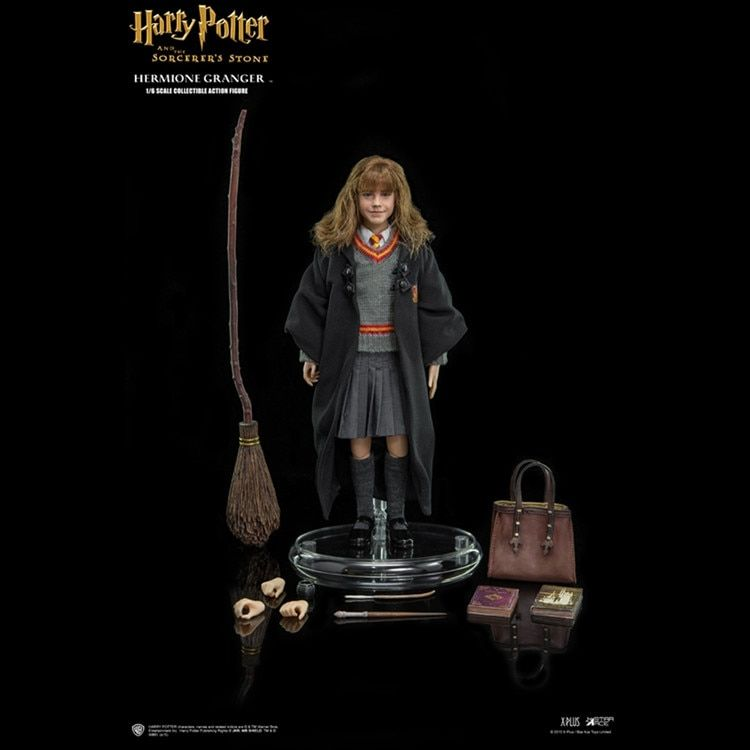 SA0004 El 1/6o Harry Potter y la Piedra filosofal 1/6 Hermione Granger de Colección Figura de Acción de Muñeca