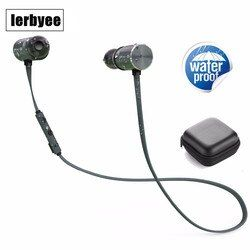 Wireless Bluetooth Sports Earphones in Ear Earbuds with 8 Hours Playtime IPX5 Splashproof, aptX Stereo,Magnetic Aluminum Design
