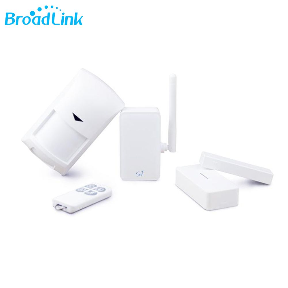 Original Broadlink S1C Kit iOS Android APP Control Wifi 4G Network Home Security Alarm System Smart Remote Control Sensor Kit