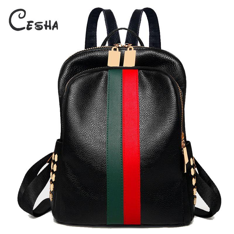 Luxe célèbre marque Designer femmes PU cuir sac à dos femme décontracté épaules sac adolescent sac d'école mode femmes sacs