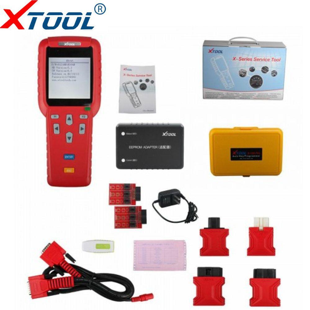 100% Original X100 Pro Professional Auto Schlüssel Programmierer Und Kilometer Anpassung Kilometerzähler X-100 Pro ECU Und Wegfahrsperre Programmierer
