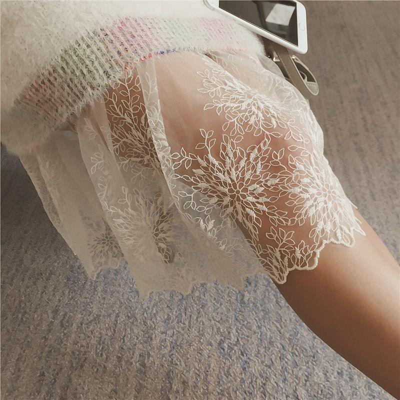 2018 new women's slips mesh bodysuits lady's tempting perspective intimates spandex dobby black full slips