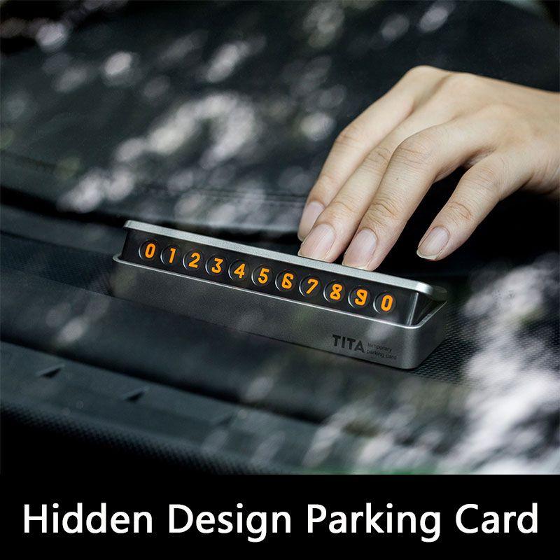 Парковка карта Знак Стоп телефонный номер карты плиты Скрытая Дизайн для Mercedes-Benz w205 W213 для Land Rover универсальный Запчасти