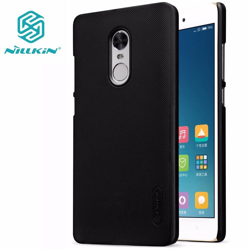 Xiaomi redmi note 4X cas xiaomi redmi note 4X couverture NILLKIN Super Givré Bouclier mat dur de couverture arrière + d'écran gratuit protecteur