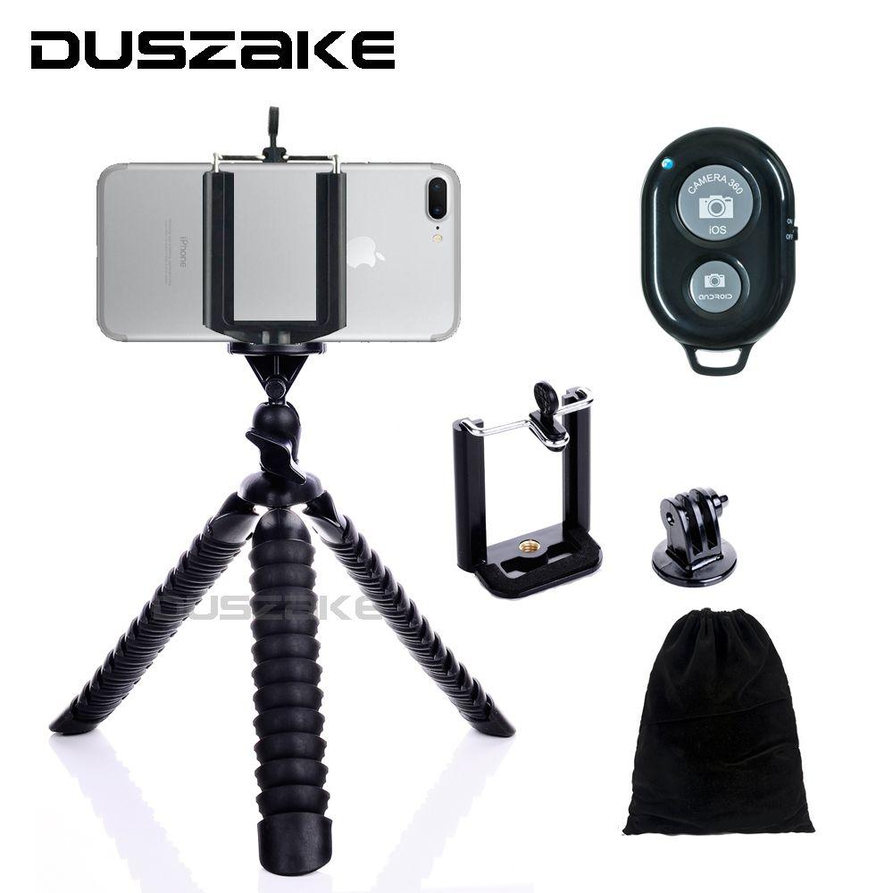 Duszake Mini trépied pour téléphone appareil photo support Mini poulpe Gorillapod 8