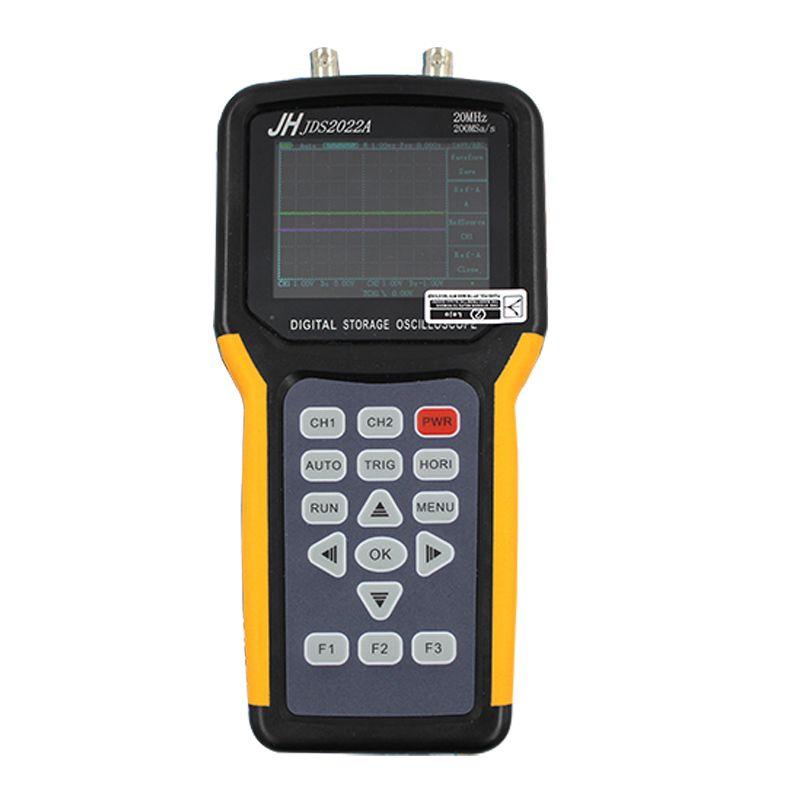 Jinhan JDS2022A Digital Handheld Oscilloscope 2 Channels 20MHz automotive oscilloscope Bandwidth 200MSa/s Sample Rate