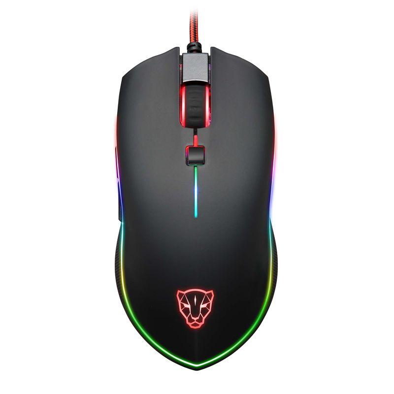 Motospeed V40 Gaming Maus USB Verdrahtete Optische Spiele Maus Einstellbar 4000 dpi Atem LED Rato com fio Mause für Laptop PC Gamer
