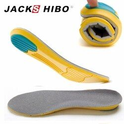 JACKSHIBO мягкие стельки профессиональная подушка для ног вставки для обуви коврик гель охлаждающий дезодорант ортопедические силиконовые сте...