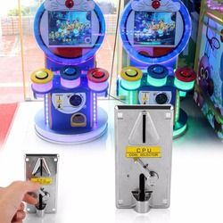 Gasky Plastic Electronic Advanced Front Entry CPU Multi Coin acceptors Comparison Coin Selector For Arcade Machines Console Gift