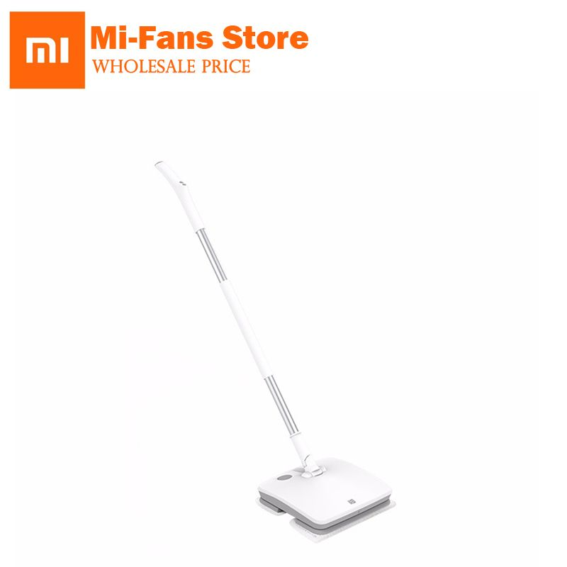 Xiaomi SWDK Wireless Handheld Electric Mop Wiper Floor Washers Built-in 2000mAh Battery With Light With Mops DC 12V