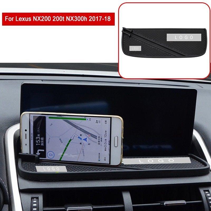 2019 neue Rolle-über Bars Käfige Anti-slip Mat Auto Dashboard Navigation Abdeckung Für Lexus NX200 NX200t NX300h 2017-2018 halterungen Halter