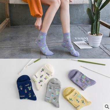 2018 New Arrival glbkXDKs Female Cotton Socks Cute Girls Classic Breathable Sock Soft On Sale 3 Pairs Free Shipping