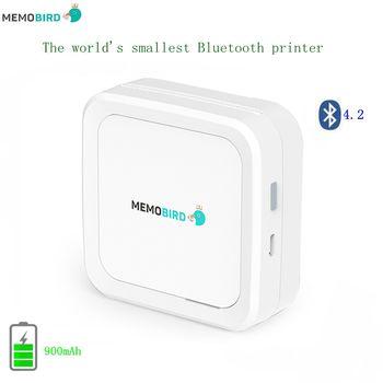 Новый за рубежом английская версия MEMOBIRD G3 Bluetooth 4,2 Портативный принтер Телефон фотопринтер карман мини-наклейки Термальность принтера