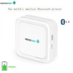 New Overseas English Version MEMOBIRD G3 Bluetooth 4.2 Portable Printer Phone Photo printer Pocket Mini Sticker Thermal printer