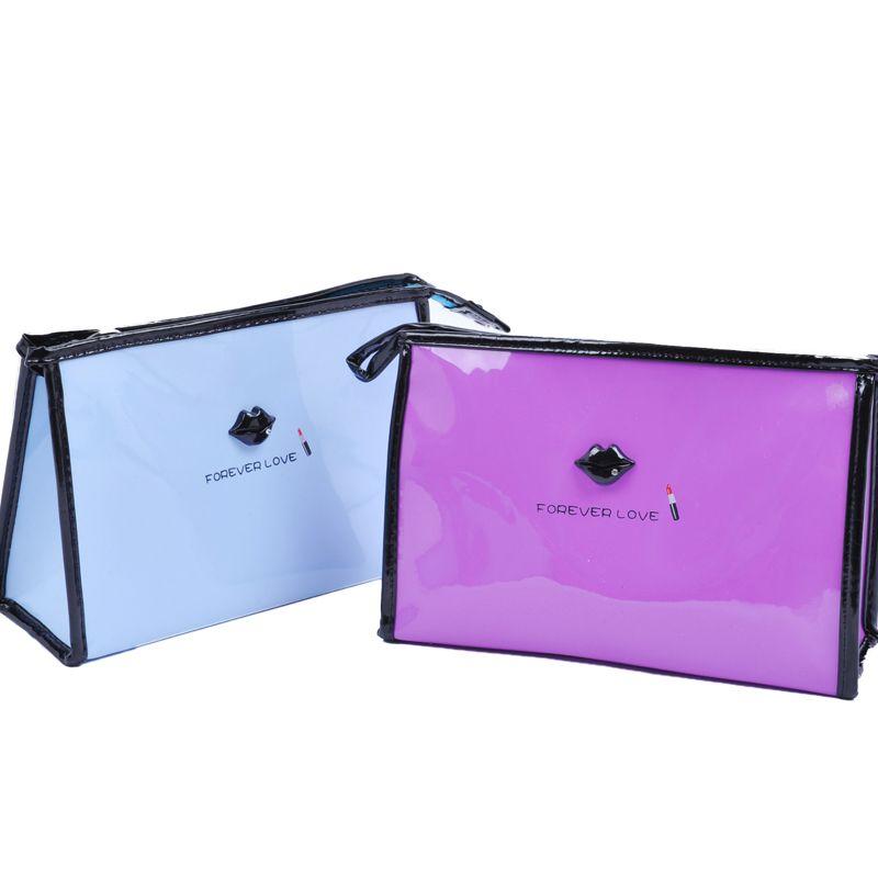 Waterproof Beautician PVC Makeup Bag Women Bags Female Zipper Cosmetic Bag Lady Cosmetic Cases Travel Organizer For Cosmetics 12