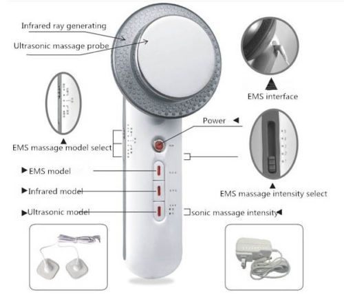 1MHz Ultrasound Cavitation EMS Body Slimming Massager Loss <font><b>Weight</b></font> Anti Cellulite Fat Burner Galvanic Infrared Ultrasonic Therapy