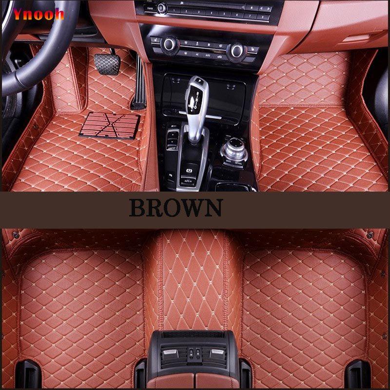 Ynooh car floor mats For volkswangen polo sedan touran 2005 vw passat b5 golf 6 sharan car mats