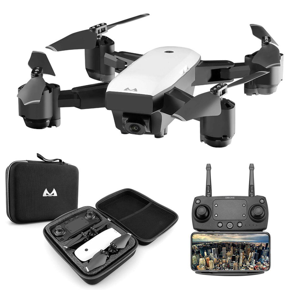 SMRC S20 6 Axles Gyro FPV Drone Portable RC Quadrocopter With 720P Camera Folding RC Helicopter Portable RC Model