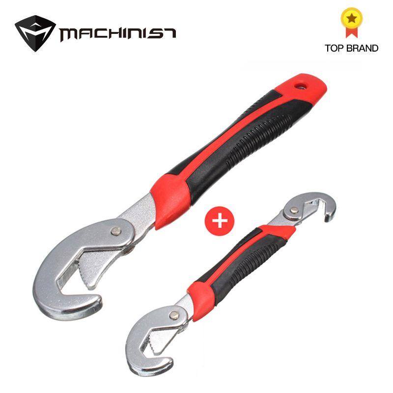 Wrench Multi-function Universal Quick Snap\'N Grip Adjustable Socket Head Wrench Spanner 9-32mm Chrome Vanadium Steel car repair