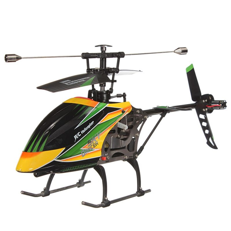 Original Product WLtoys V912 Sky Dancer 2.4G 4CH RC Helicopter RTF with Videography Function Remote Control Toys
