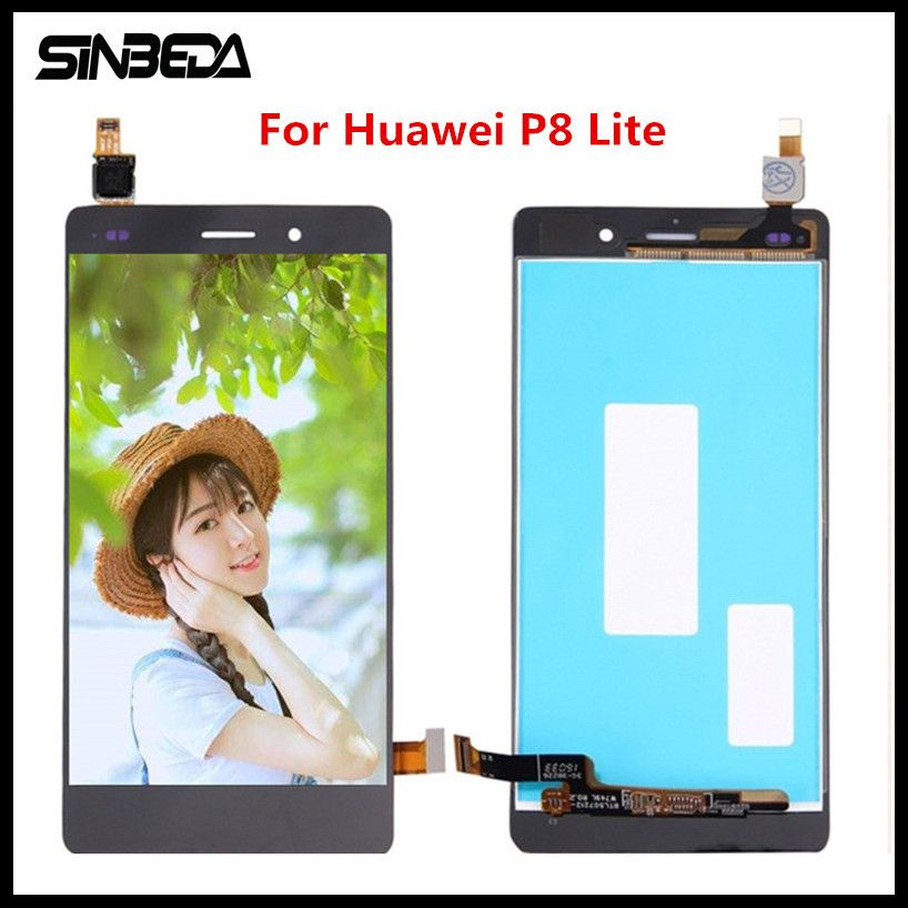 Sinbeda For Huawei P8 Lite 2016 LCD Display + Touch Screen Glass Panel Digitizer Assembly Replacement For Huawei P8 Lite 2016