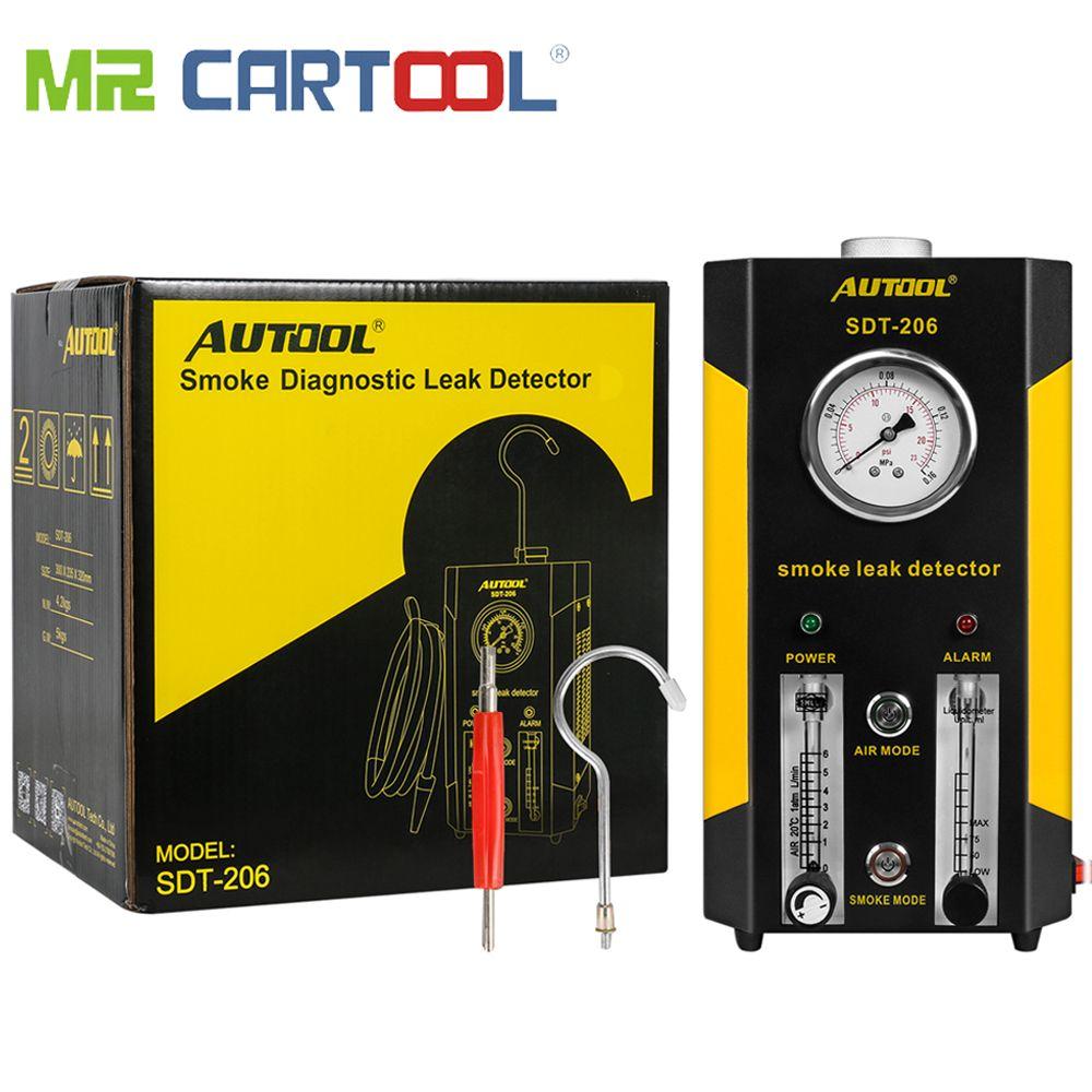 AUTOOL 2019 NEUE SDT-206 Auto Rauch Maschinen Leck Locator Automotive Diagnostic Leck Detektor Auto Diagnose Werkzeug PK SDT206