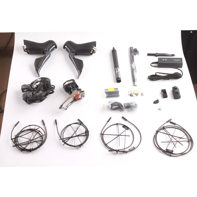 Shimano ULTEGRA 2x11S Speeds R8000 R8050 Di2 Electric Parts Road Bicycle Groupset Bike Kit Include All Electronic Parts