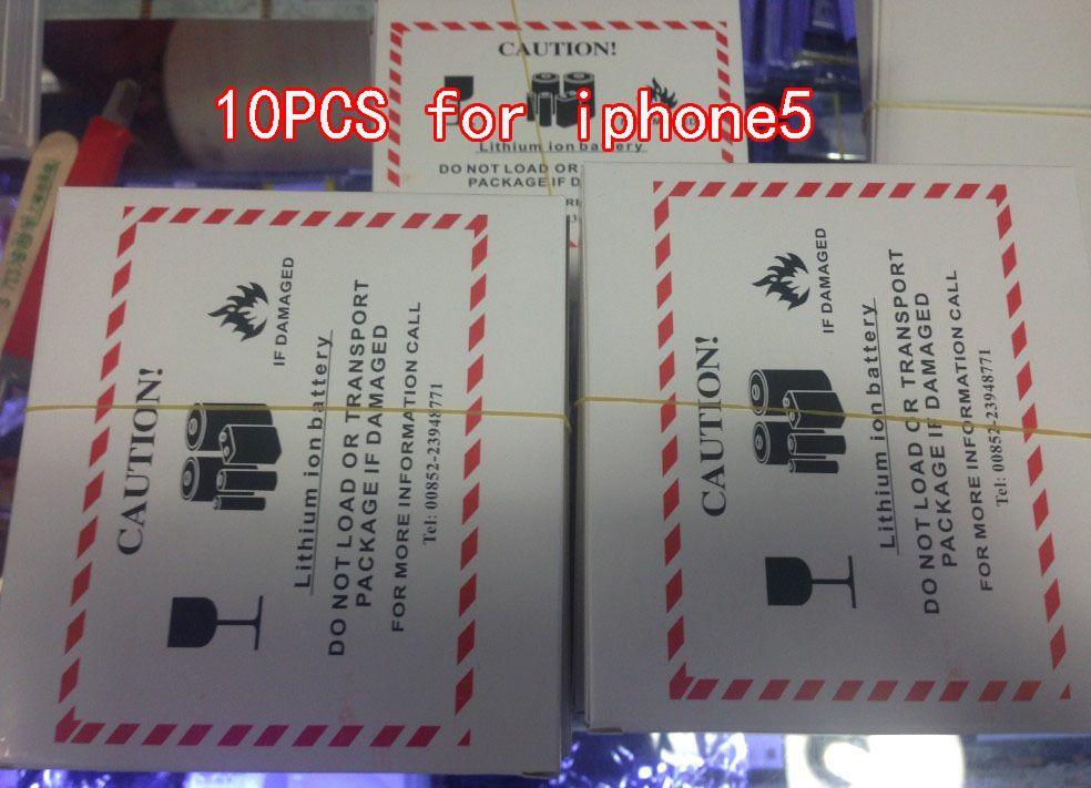 10 stücke 1440 mAh Handy-akku Lithium-ionen-batterie-wiedereinbau-batterie Für Apple Iphone 5 Batterie 2017 nachrichten AAA