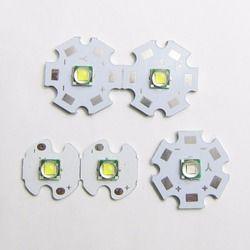 1 Pcs Cree XML Xm-l T6 LED U2 10 W Cold White 6500 K Hangat Putih 3000 KB Biru 450nm UV LED Emitter Diode dengan 16 Mm 20 Mm Al PCB untuk DIY