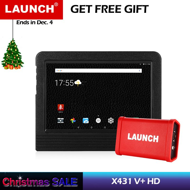 Launch X431 V+ Diagnostic Tool HD Heavy Duty Truck Diagnostic Module Wifi Bluetooth Gasoline Vehicle Diesel Truck scanner Auto