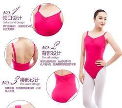 Wanita Gadis Dewasa Balet Senam Triko Seksi Pakaian Hitam Burgundy Balet Triko Bodysuit Untuk Dijual