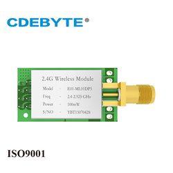 E01-ML01DP5 longue portée SPI nRF24L01P 2.4 ghz 100 mw SMA antenne IOT uhf émetteur-récepteur sans fil (émetteur/récepteur) module