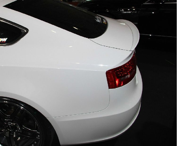 Osmrk unpainted ABS tail wing rear spoiler for Audi A5 2009-16 four doors