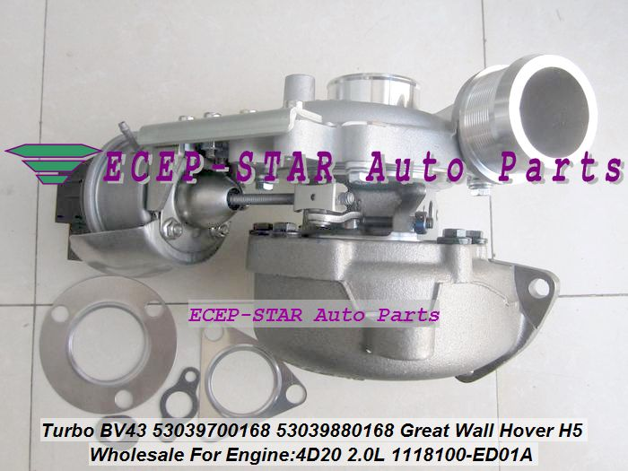 BV43 53039700168 53039880168 1118100-ED01A 1118100ED01 Turbo For Great Wall Hover H5 4D20 2.0L KM68 + Electric control actuator